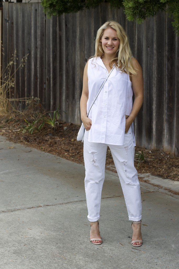 White on White Les Mechantes Summer Style Outfit Ideas ACE Target Style Fashion Blogger 9