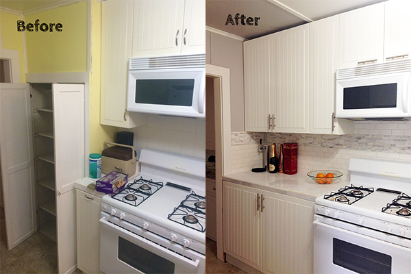 Before and after kitchen remodel part 1 have need want for I have a small kitchen that i want to remodel