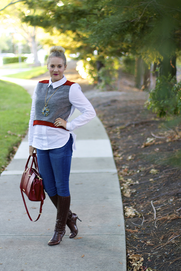 instant style, fashion blogger, outfit ideas, bay area blogger, SF fashion blogger, double layer top